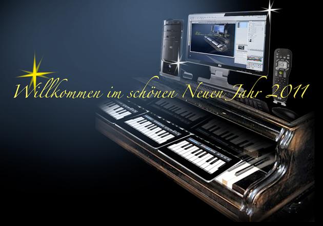 Klavier der iPad-Zukunft